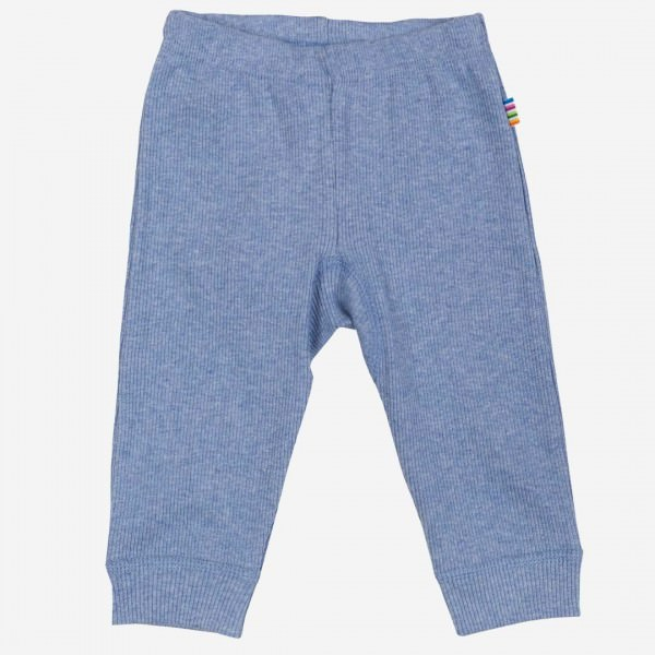 Leggings Baumwolle bleu melange