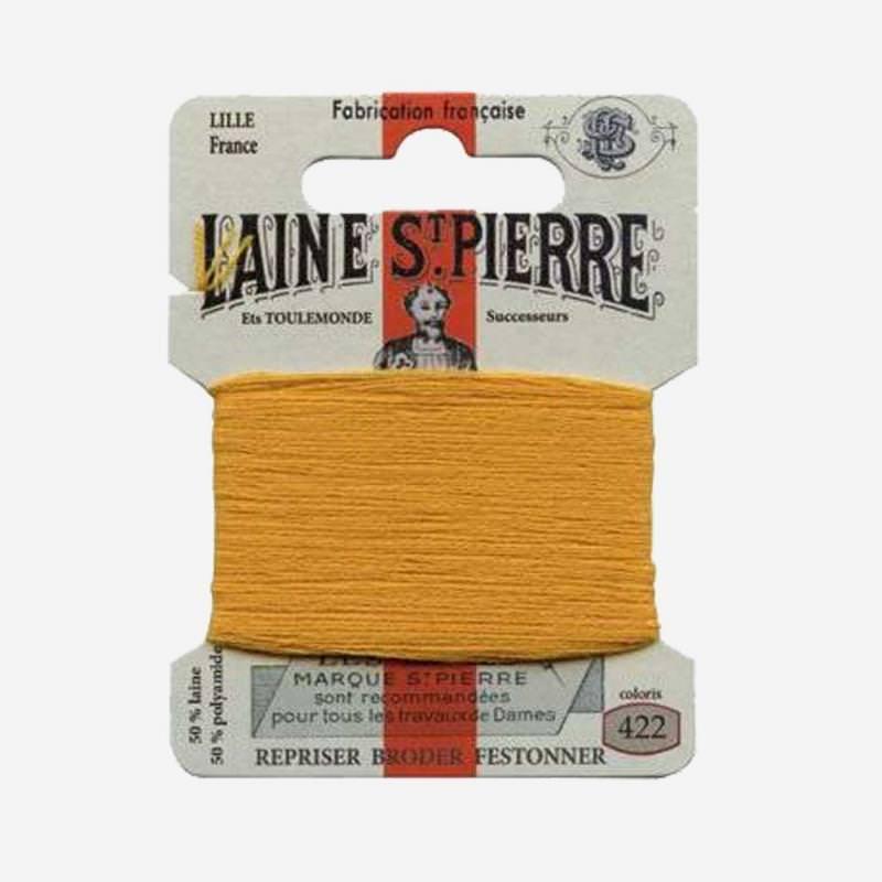 Stopfgarn von Laine Saint-Pierre in senf Farbnummer 422