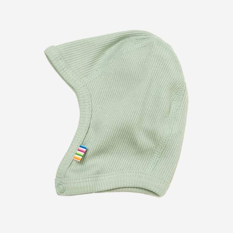 Babyhäubchen Baumwolle hellgrün