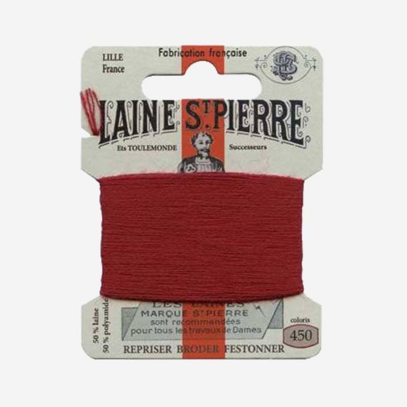 Stopfgarn von Laine Saint-Pierre in kirsche Farbnummer 450