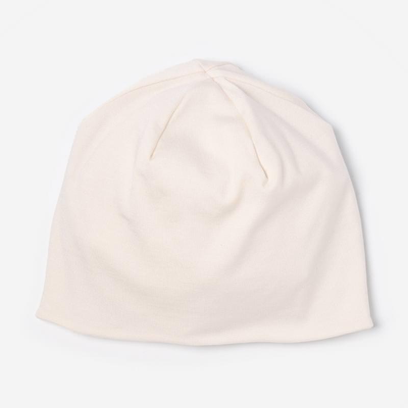 Mütze Bonnet Seide Natur