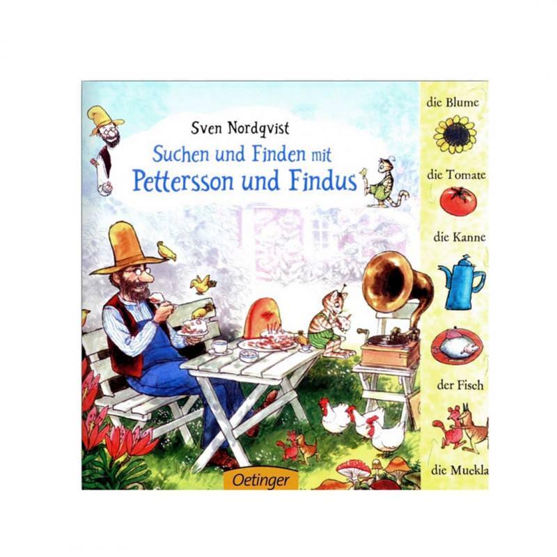Suchen und Finden mit Pettersson und Findus