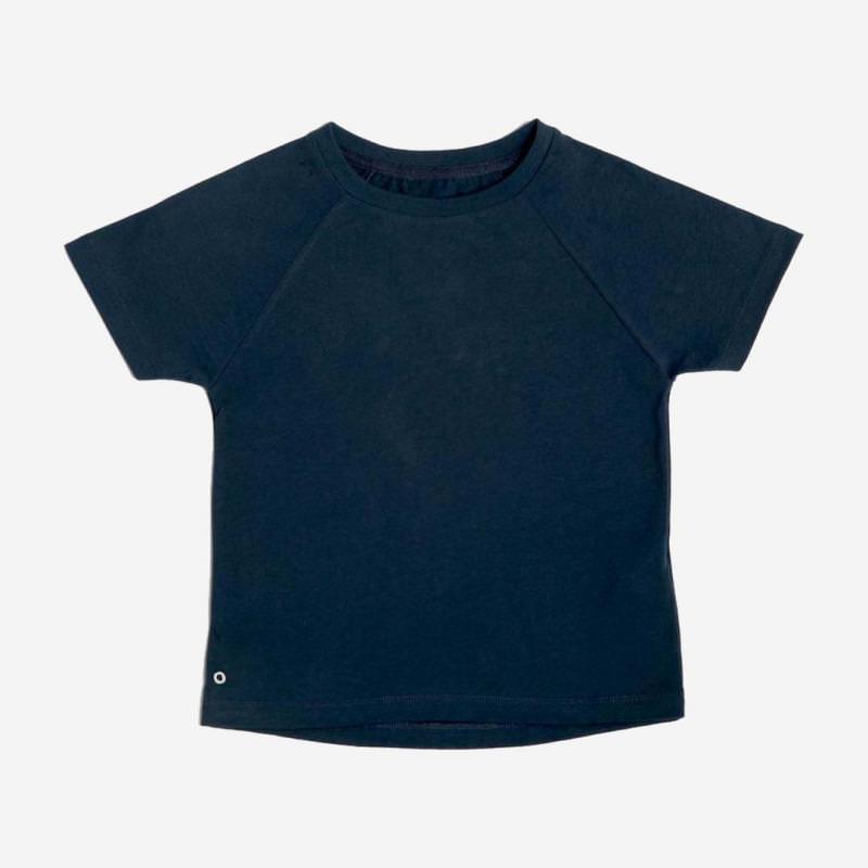T-Shirt Baumwolle nachtblau