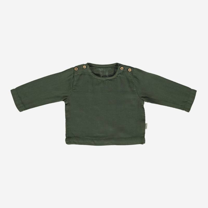 Blouse HOUBLON forest green
