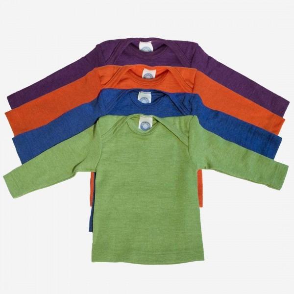 Schlupfhemdchen Uni Wolle/Seide