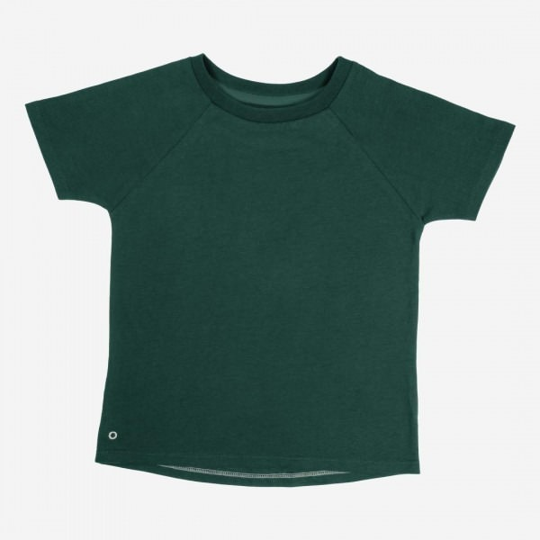 T-Shirt Baumwolle forest green