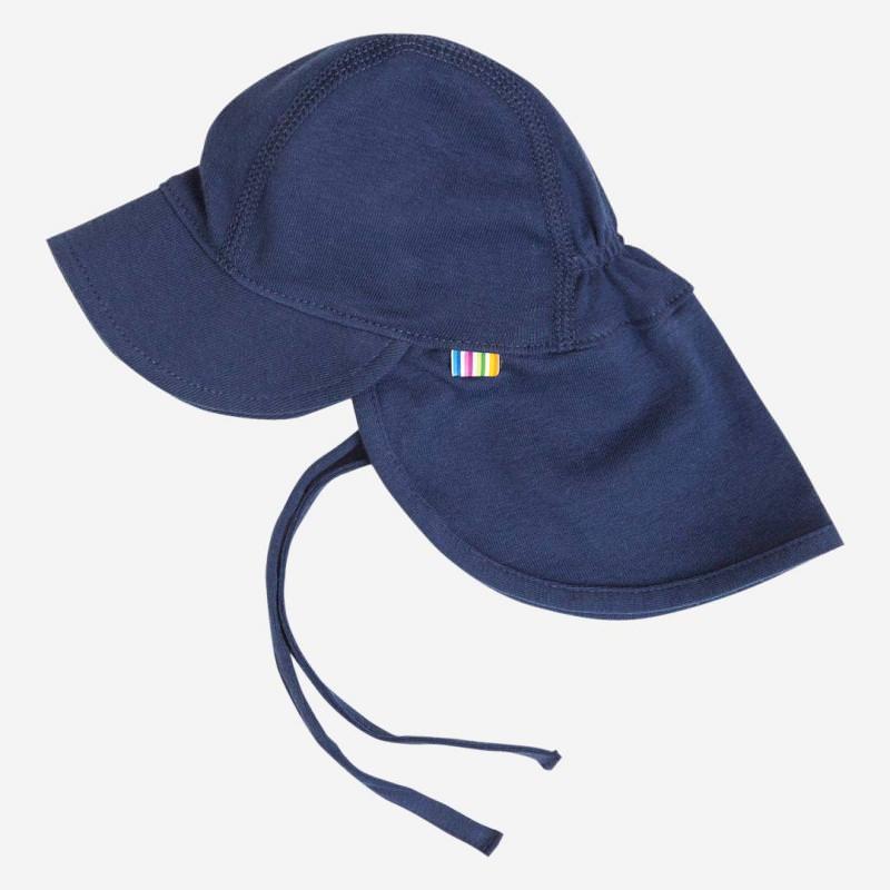 Sommermütze Nackenschutz navy