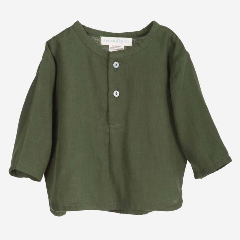 Baby Gauze Shirt cedar
