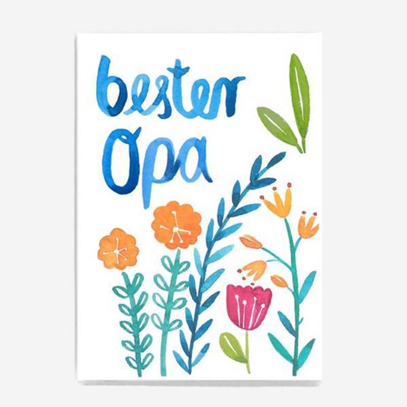 Postkarte Bester Opa