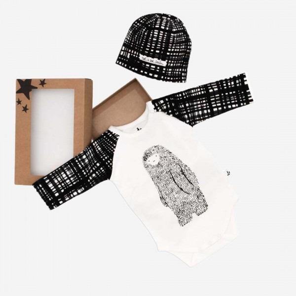 Baby Gift Box S Black Net