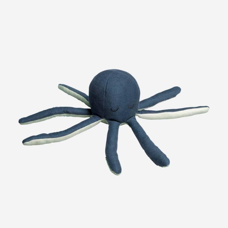 Soft Rattle octopus blue