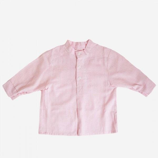 Fischerhemd rosa/weiß