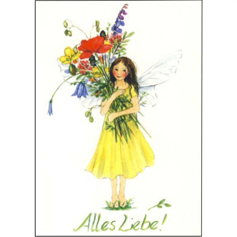 Postkarte Alles Liebe!