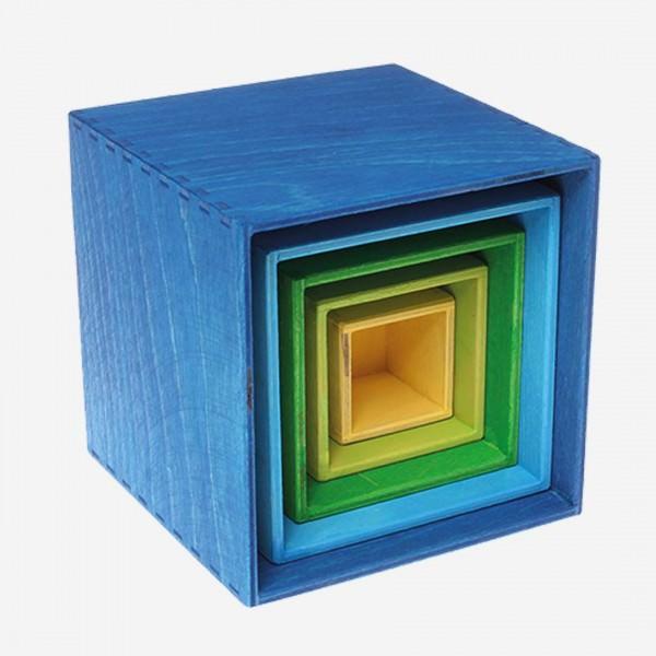 Kleiner Kastensatz blau