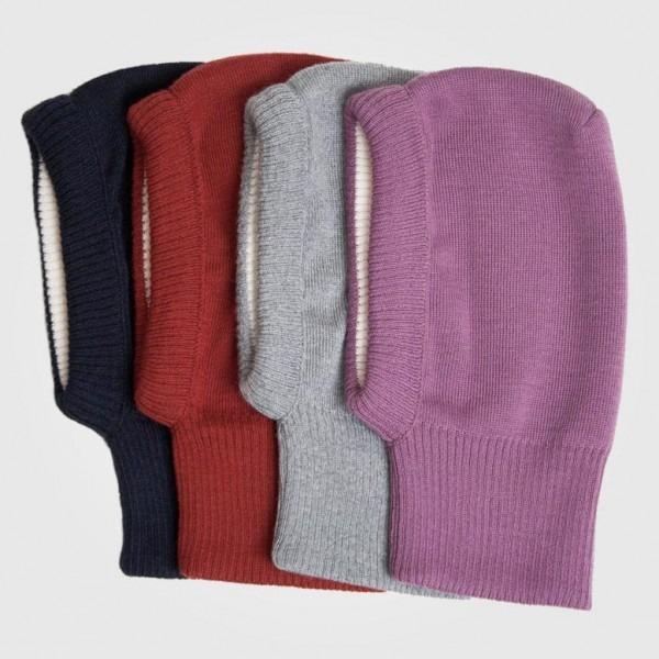 Schalmütze Sturmhaube Wolle/Baumwolle