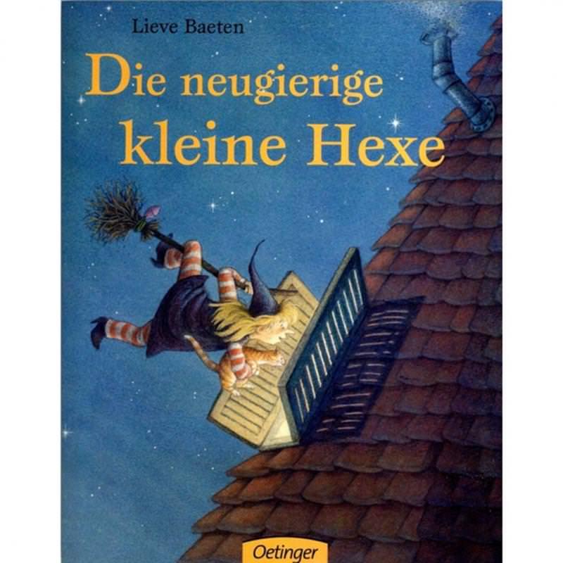 Buch Die neugierige kleine Hexe