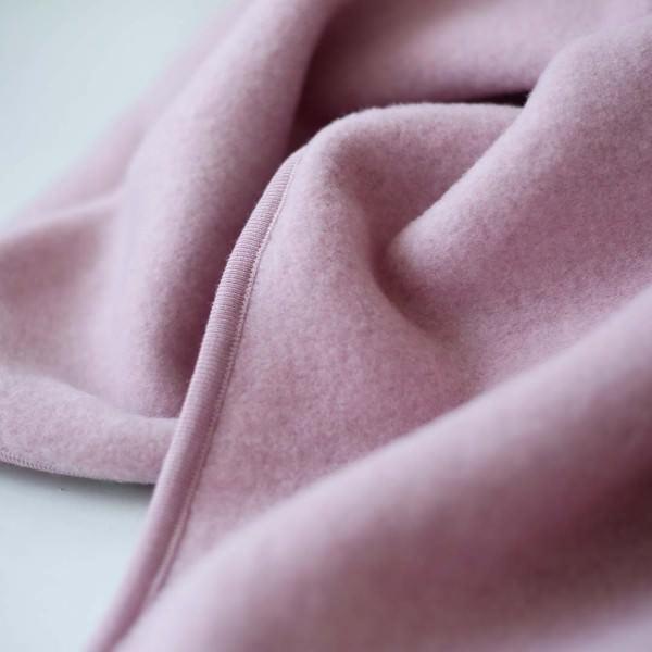 Baby Decke Wollfleece rosenholz