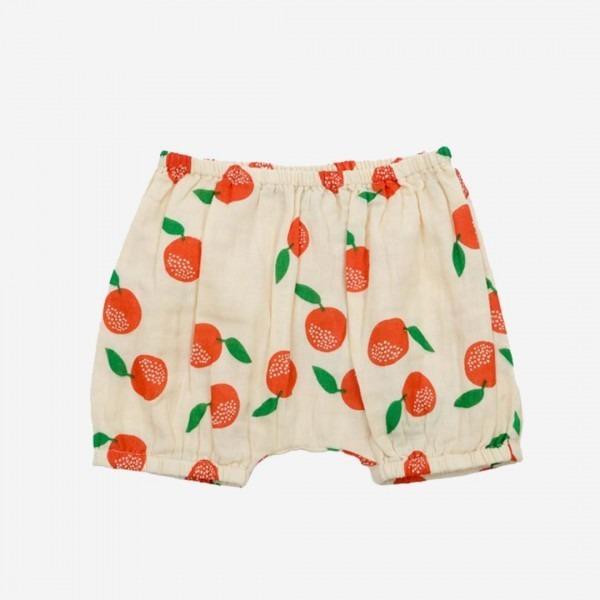 Musselin-Bloomer Romy clementinen