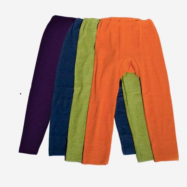 Legging Uni Wolle/Seide