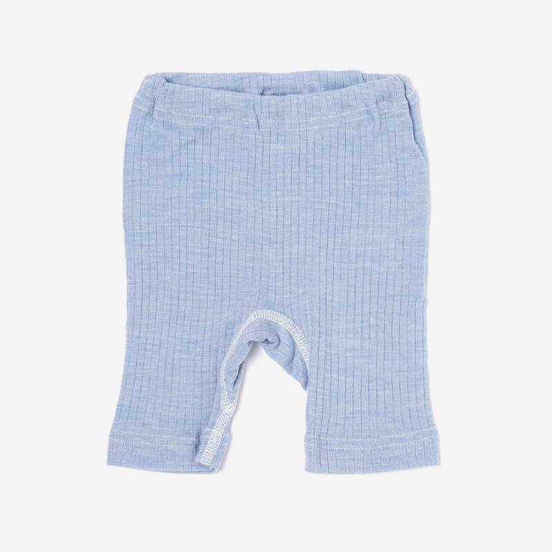 Bermudas Baumwolle/Wolle/Seide hellblau