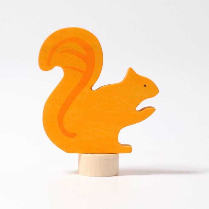 grimms figurenstecker steckfigur holz geburtstagsring adventsspirale eichhörnchen