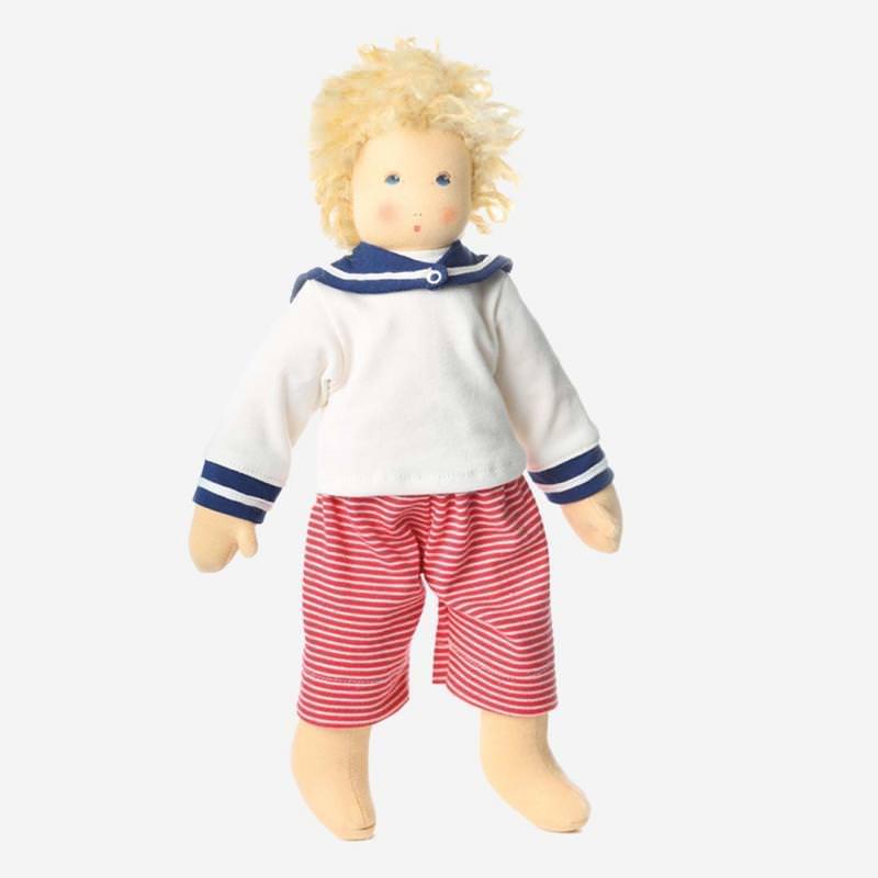Puppe Strandkind Lasse