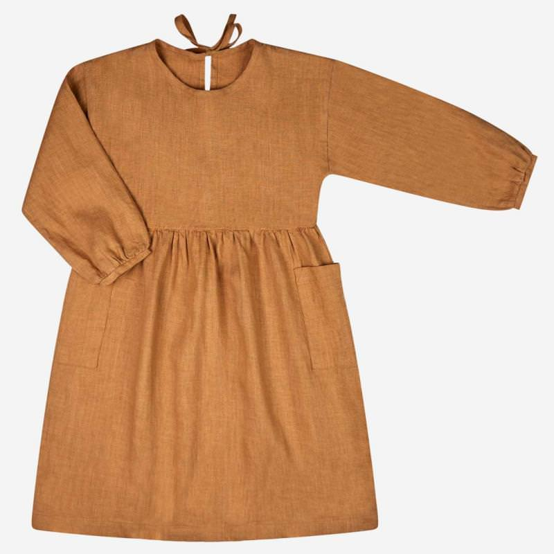 Alma Dress cinnamon