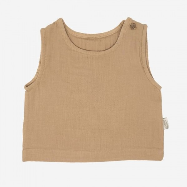 Tanktop CEYLAN indian tan
