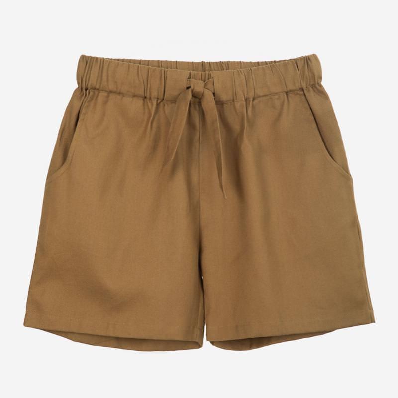 Damen Shorts Twill seagrass