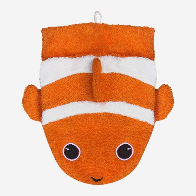 Waschhandschuh Clownfisch