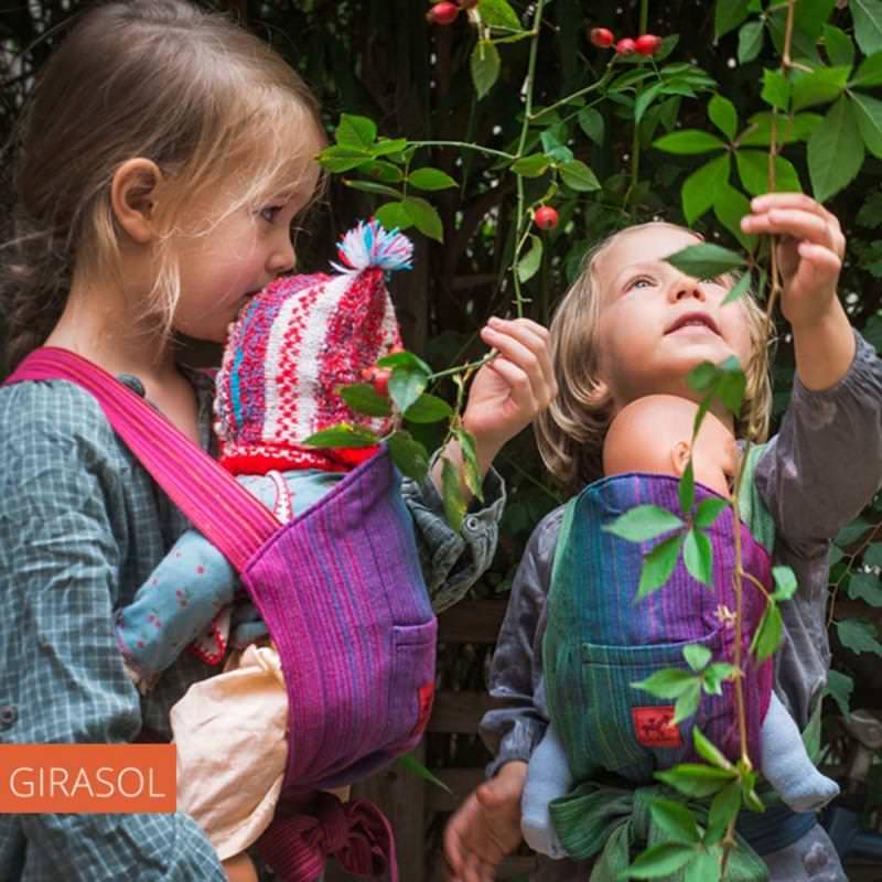 Puppentrage Mini MySol von Girasol in der Paradise