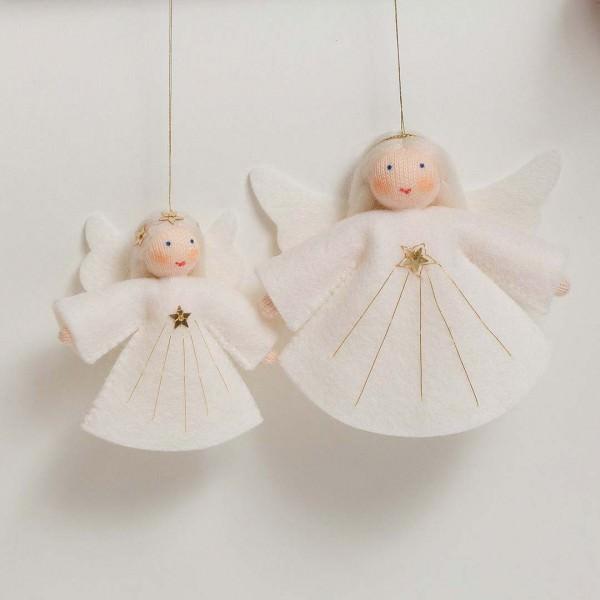Filzpüppchen Engel hängend
