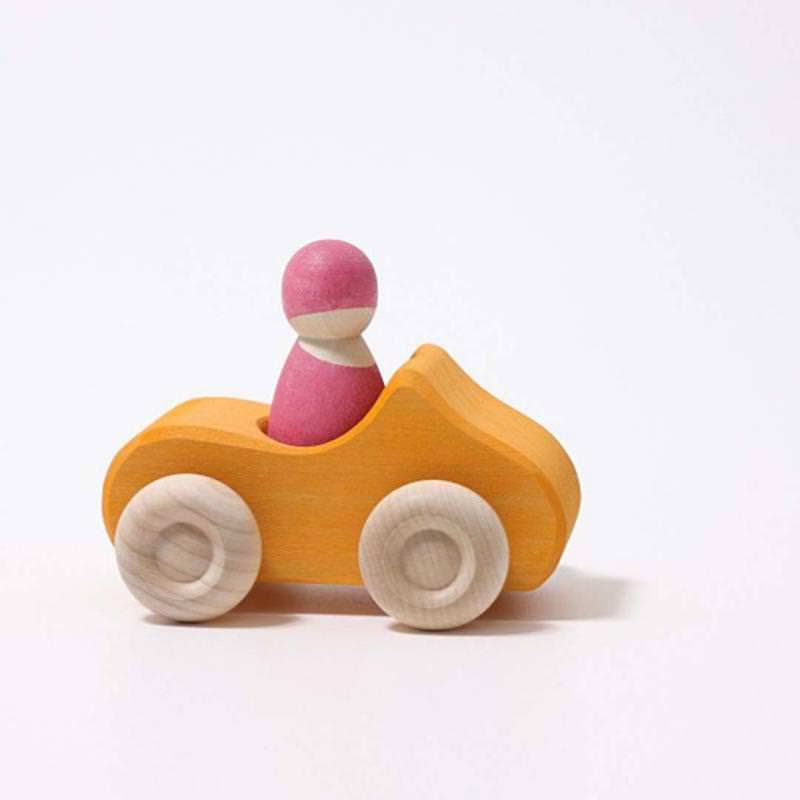 Kleines Cabrio gelb