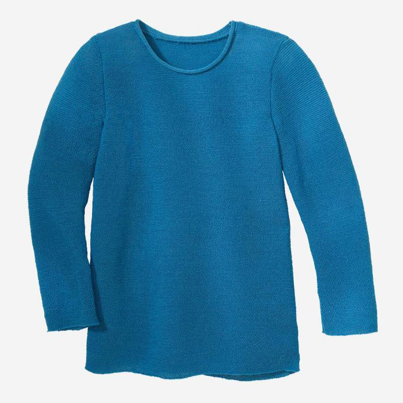 Langarm Pullover karibikblau