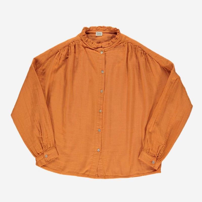 Damen Bluse AMANDE marmalade