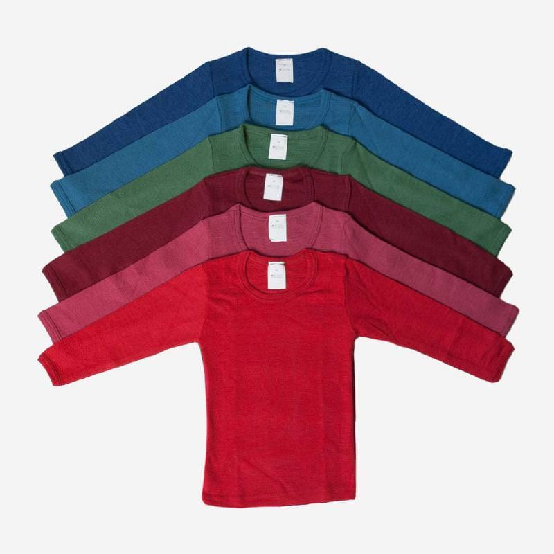 Unterhemd Uni Wolle/Seide
