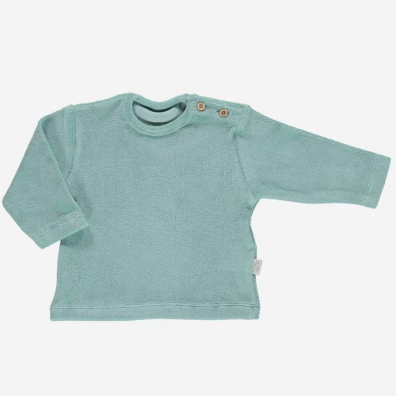 Frottee Shirt ESTRAGON blue surf