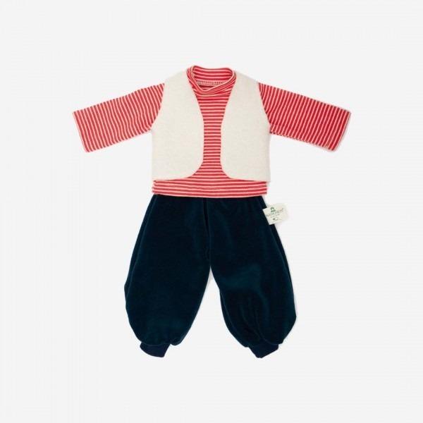 Puppen-Bekleidung Schulkind