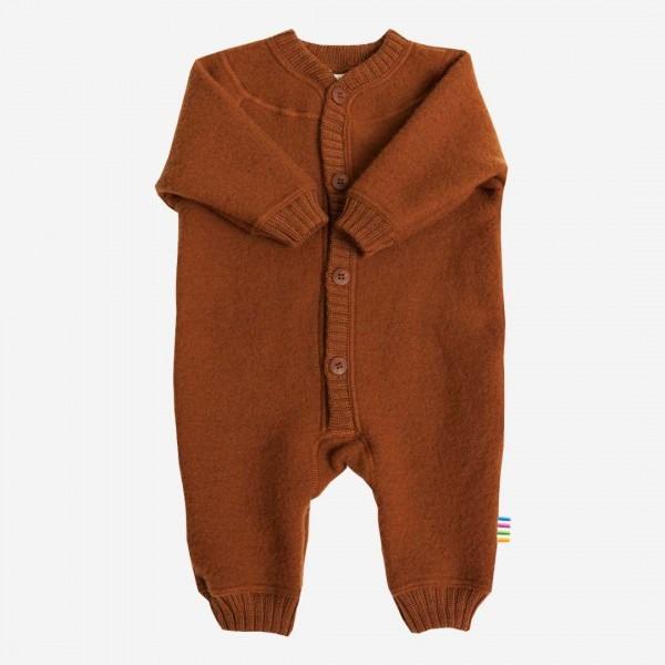 Anzug Wollfleece karamell