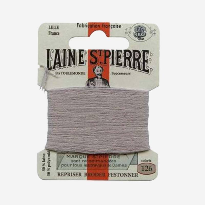 Stopfgarn von Laine Saint-Pierre in grau Farbnummer 126