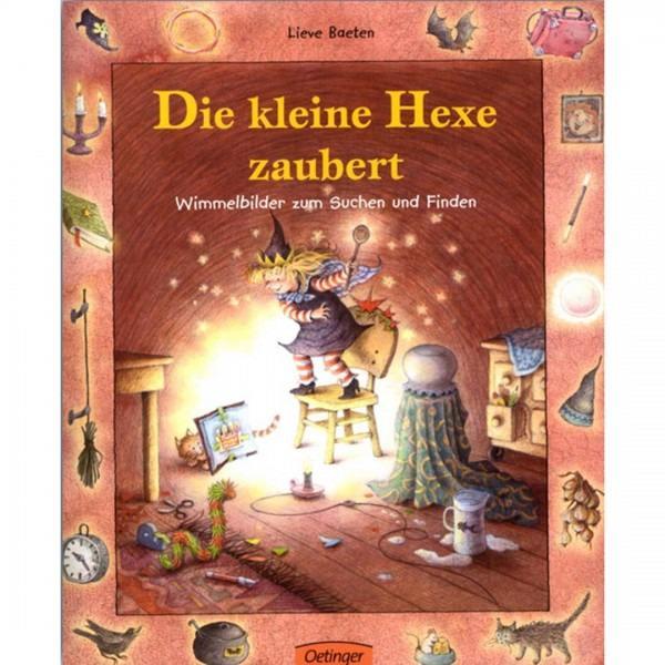Wimmelbuch Die kleine Hexe zaubert
