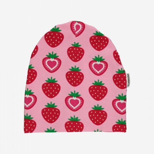 Mütze Erdbeere
