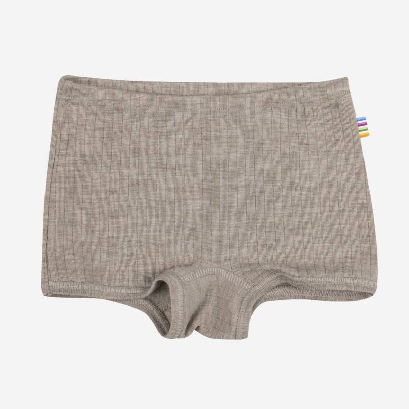 Hipster Unterhose Wolle sesam