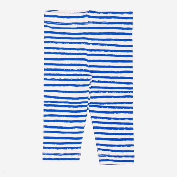 Baby Legging blue stripes