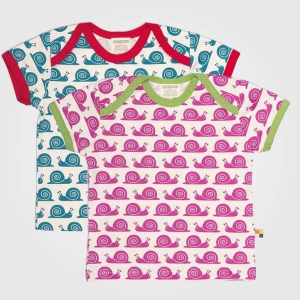 Shirt Kurzarm Schnecke