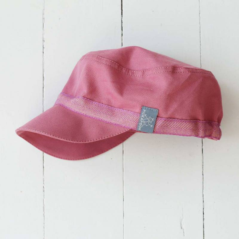 Schirmmütze Mika UV-Schutz rosé