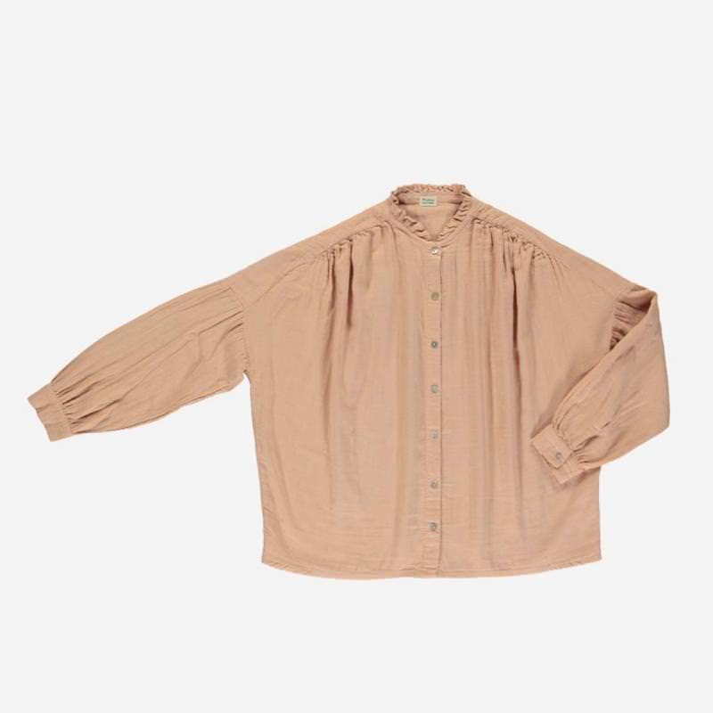 Damen Bluse AMANDE maple sugar