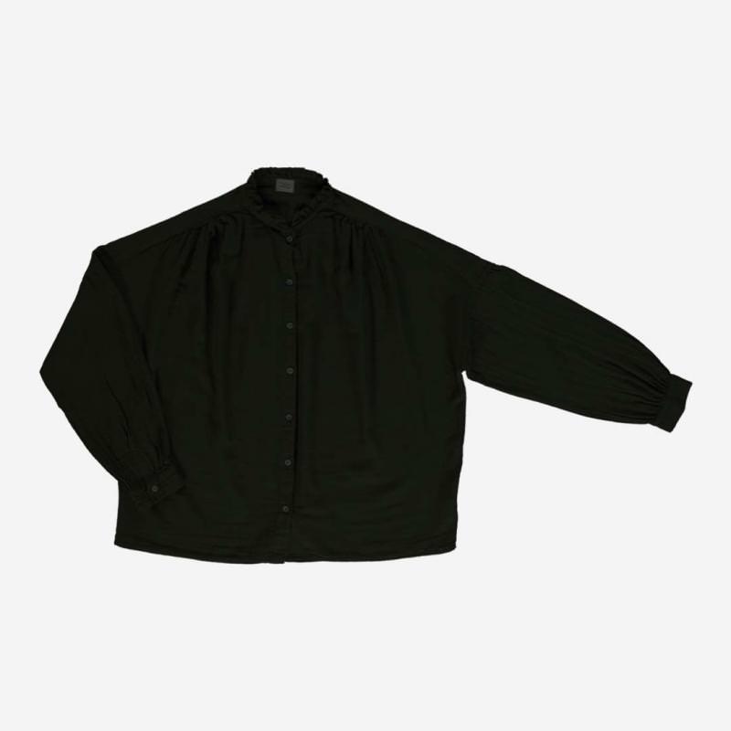 Damen Bluse AMANDE pirate black