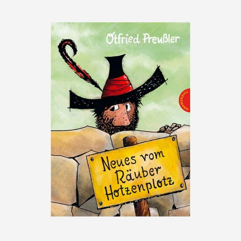 Buch Neues vom Räuber Hotzenplotz farbig