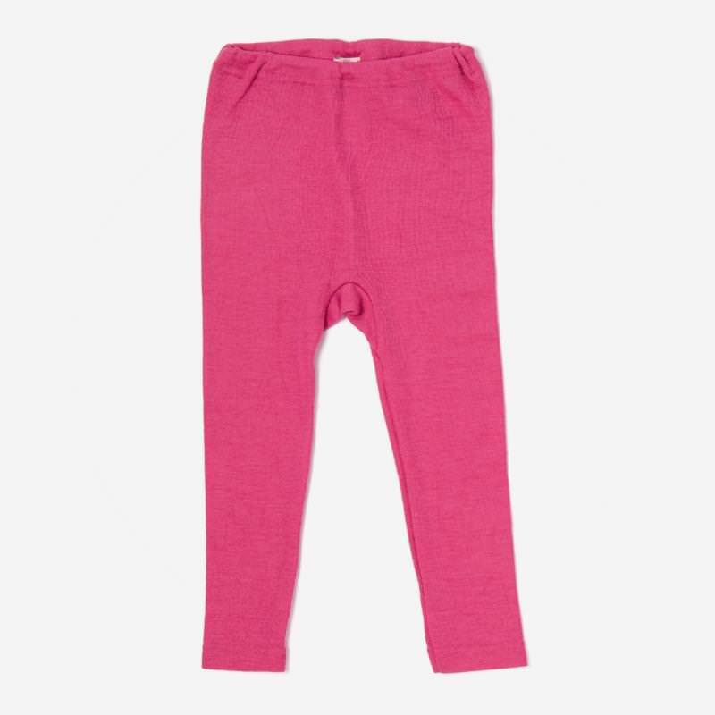 Leggings Wolle/Seide pink
